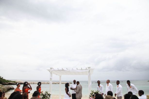 Bride & Groom Ceremony Jamaica