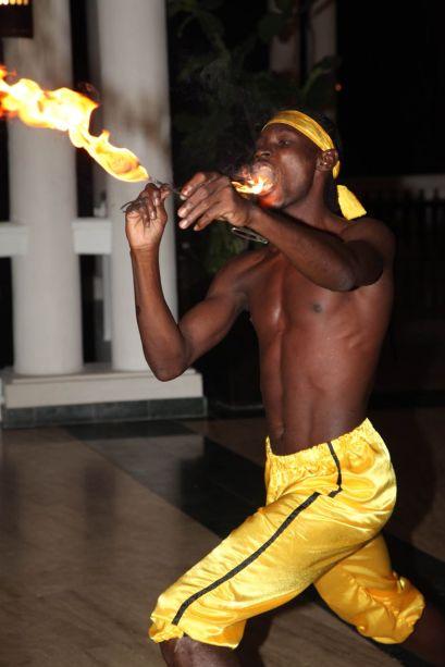 Jamaican Fire Eater